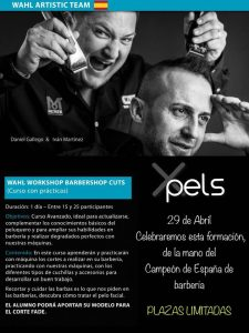 Wahl Workshop Barbershop Cuts, 29 de abril